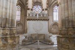 Monastério de Batalha, Portugal imagem de stock