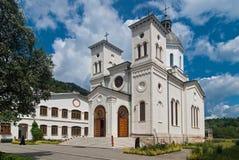 Monastério de Bistrita, Romania fotos de stock royalty free