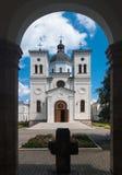 Monastério de Bistrita, Romania foto de stock royalty free
