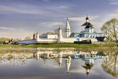 Monastério de Bobrenev em Kolomna imagens de stock