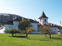Monastério de Brancoveanu em Romania fotografia de stock royalty free
