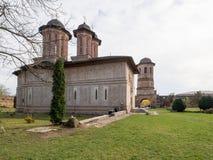 Monastério de Brebu Foto de Stock
