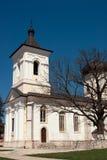 Monastério de Capriana, a igreja de pedra Fotografia de Stock
