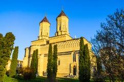 Monastério de Cetatuia na cidade de Iasi, Romênia Fotos de Stock Royalty Free