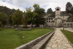 Monastério de Cetinje imagens de stock royalty free
