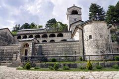 Monastério de Cetinje - monastério ortodoxo da natividade do Bl foto de stock