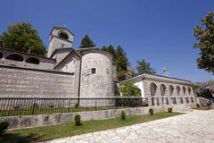Monastério de Cetinje montenegro imagem de stock royalty free