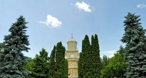 Monastério de Curtea de Arges em Romania foto de stock royalty free