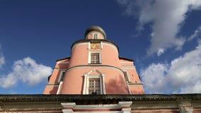 Monastério de Donskoy Igrejas medievais do russo no território Moscovo, Rússia filme