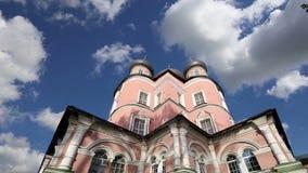 Monastério de Donskoy Moscovo, Rússia vídeos de arquivo