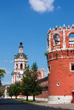 Monastério de Donskoy, Moscovo, Rússia Imagens de Stock