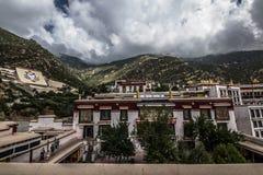Monastério de Drepung perto de Lhasa, Tibet imagem de stock