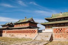 Monastério de Erdene Zuu Fotos de Stock Royalty Free