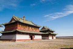 Monastério de Erdene Zuu imagens de stock