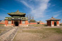 Monastério de Erdene Zuu imagem de stock royalty free
