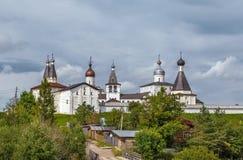 Monastério de Ferapontov, Rússia fotografia de stock