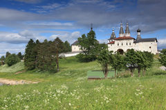 Monastério de Ferapontovo em Rússia Fotos de Stock Royalty Free