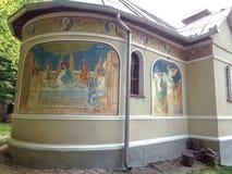 MONASTÉRIO de FEREDEU - Arad, Romênia imagem de stock royalty free