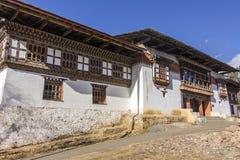 Monastério de Gangtey imagem de stock