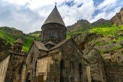 Monastério de Geghard do armênio Fotografia de Stock