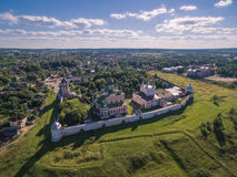 Monastério de Goritsky Fotos de Stock