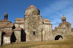 Monastério de Haghpat ou Haghpatavank, Armênia imagem de stock royalty free