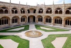 Monastério de Hieronymites, Lisboa, Portugal. Fotos de Stock