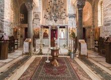 Monastério de Hosios Loukas Imagens de Stock Royalty Free