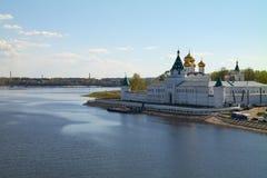 Monastério de Ipatiev em Kostroma Fotos de Stock