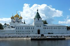 Monastério de Ipatyevsky, Kostroma, Rússia Foto de Stock Royalty Free