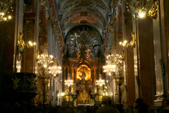 Monastério de Jasna Gora Fotos de Stock Royalty Free