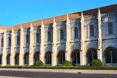 Monastério de Jeronimos Imagem de Stock