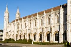 Monastério de Jeronimos fotografia de stock royalty free