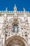 Monastério de Jeronimos em Portugal, Lisboa fotos de stock royalty free