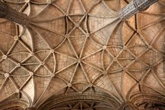 (Monastério de Jeronimos, Lisboa Fotografia de Stock Royalty Free