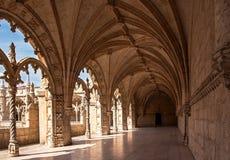 Monastério de Jeronimos, Lisboa, Portugal foto de stock royalty free