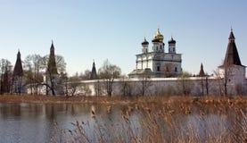 Monastério de Joseph-Volokolamsk, Rússia Fotografia de Stock Royalty Free