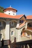Monastério de Kikkos nos moutains dos troodos Fotografia de Stock