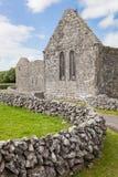 Monastério de Kilmacduagh foto de stock