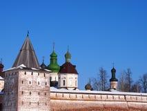 Monastério de Kirillo-Belozersky fotografia de stock royalty free