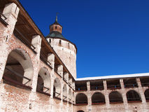 Monastério de Kirillo-Belozersky imagem de stock