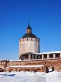 Monastério de Kirillo-Belozersky imagens de stock royalty free