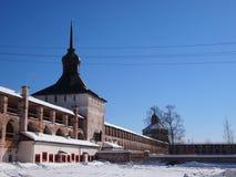 Monastério de Kirillo-Belozersky imagem de stock royalty free
