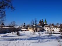 Monastério de Kirillo-Belozersky fotos de stock royalty free