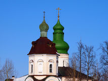 Monastério de Kirillo-Belozersky imagens de stock