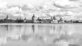 Monastério de Kyrill-Belozersky Foto de Stock