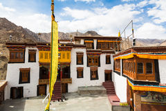 Monastério de Likir em Ladakh, Índia foto de stock royalty free