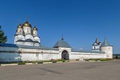 Monastério de Luzhetsky, Mozhaysk, Rússia Imagens de Stock