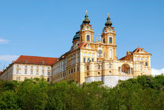 Monastério de Melk imagem de stock