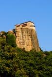 Monastério de Meteora Imagens de Stock Royalty Free